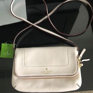 Kate Spade Mariana White Pebble Crossbody